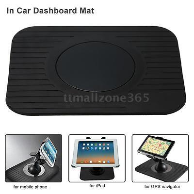 In Car GPS Dashboard Mount Holder Nav Dash Mat for GPS Mobile Phone A4T7