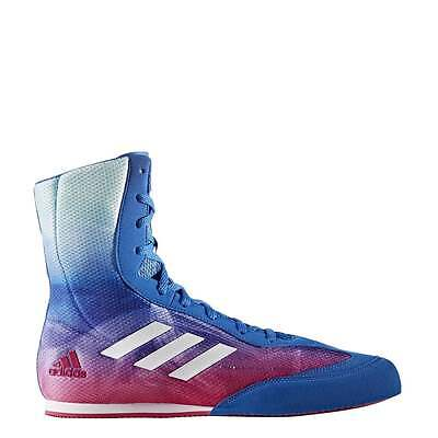 Adidas Box Hog Plus Boxing Boots Mens - Pink Blue Green