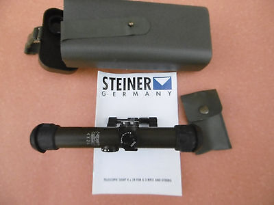 Steiner Germany  Scope ZF 4x24 included STANAG- mounting  G3