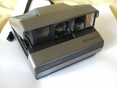 Polaroid Image System Instant Camera Comes With Original Case And Instructions