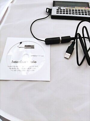 Cable Interface USB Casio FX-880p, FX-850p, etc.
