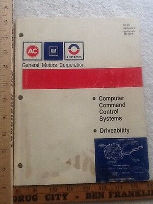 General Motors Corporation Computer Command Control Systems Driveability