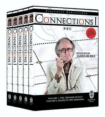 Connections 1 Presented by James Burke (DVD, 2007, 5-Disc Set) NEW