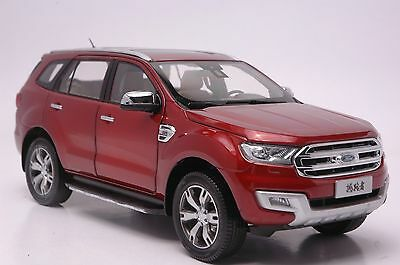 Ford Everest SUV model in scale 1:18