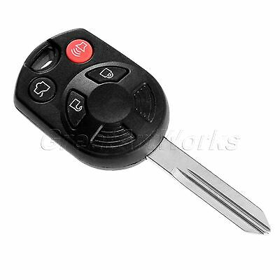 4 Buttons Keyless Entry Replacement For Ford Escape Key Uncut Blade Case Shell