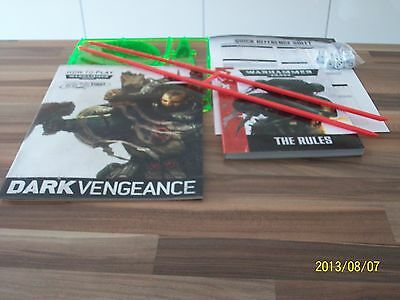 Dark Vengeance Rulebook (7Th Edition),how To Play, Dice, Templates, Rulers