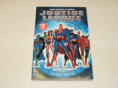 Justice League Secret Origins Paperback (Bantam Books) MICHAEL TEITELBAUM 2002