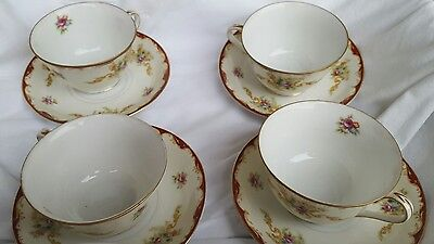 1 ea HARMONY HOUSE WEMBLEY PATTERN Cup and Saucer