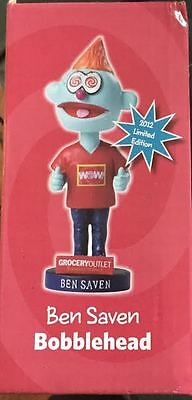 Grocery Outlet Ben Saven Bobblehead 2012