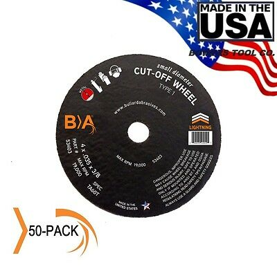 Bullard Abrasives 4 x .035 x 3/8 Metal Cut-Off Wheel for Die Grinder United 50PK