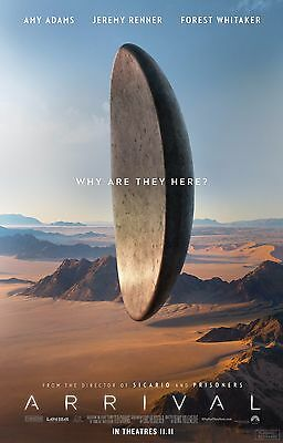 """Arrival Movie Poster 18"""" x 28"""" ID:10"""