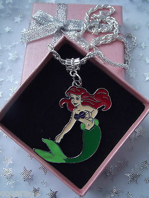Little Mermaid  Princess   Ariel  Necklace Strong Twist Rope, Gift Box,birthday