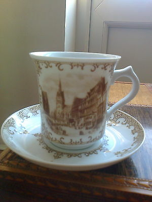 A.K Kaiser of W. Germany cup and saucer Hannover 1830 picture