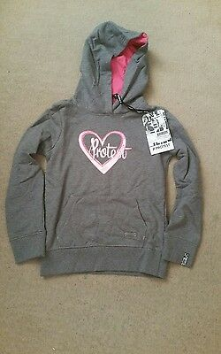 girls Protest Hoodie age 8