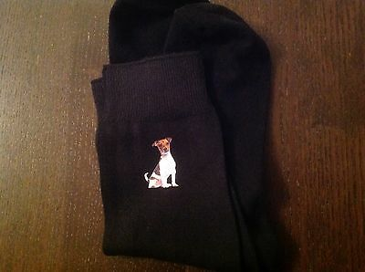 Jack Russell Terrier Mens Socks Birthday Gift Present Size 9 / 12 Dad Father Lad
