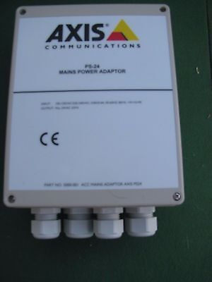 Axis Communications PS24 Mains Power Adapter