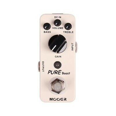Mooer Pure Boost Electric Guitar Effects Pedal