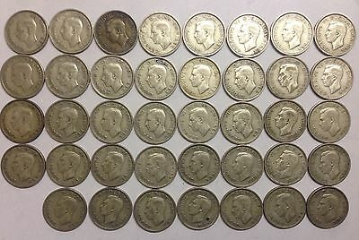 39 One Shillings George V 1937 To 1939