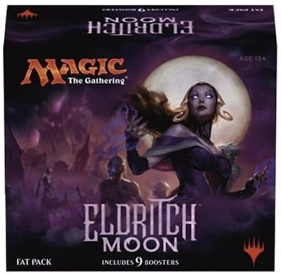 Eldritch Moon Fat Pack | Magic the Gathering MTG 9 Booster Packs, Deck Boxes