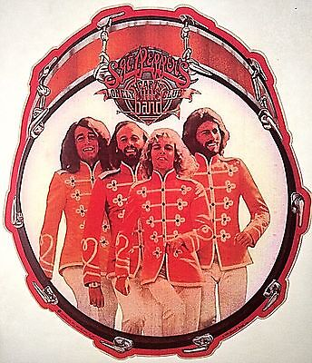 VINTAGE 1978 BEE GEES Sgt Pepper's PETER FRAMPTON IRON ON TRANSFER MINT SEALED