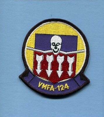 VMFA-124 WHISTLING DEATH USMC MARINE CORPS Proposed Attack Squadron Patch