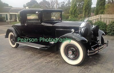 1930 Packard A/4 glossy print. Free post.