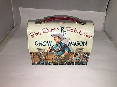 Roy Rogers Dome Top Lunchbox Lunch Box.   302-T