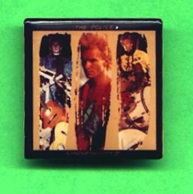 THE POLICE Synchronicity II Single Cover Artwork Pinback Button STING