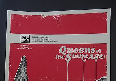 Kii Arens - Queens of the Stone Age poster print - Rated R