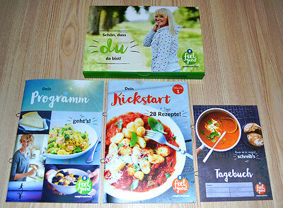 Weight Watchers Dein Programm +Kickstart SmartPoints Liste Starter Set 4tlg 2017
