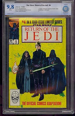 Star Wars Return Of The Jedi #3 Cbcs 9.8 Death Of Vader & Palpatine Comic Kings