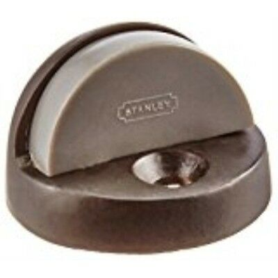 Stanley Hardware S829-176 1/2-Inch x 2-Inch Floor Stop with Anchor, Oil Rubbed B