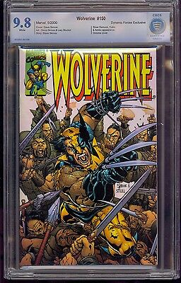 Wolverine #150 Cbcs 9.8 Dynamic Forces Exclusive Limited To 2000 Coa Comic Kings