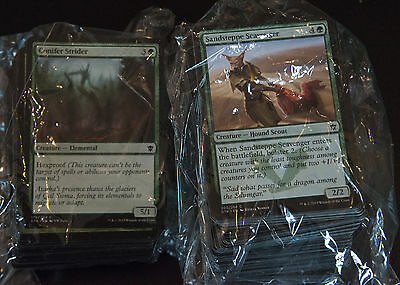 MTG Magic the Gathering Cards Job Lot Approx 200 commmon green cards
