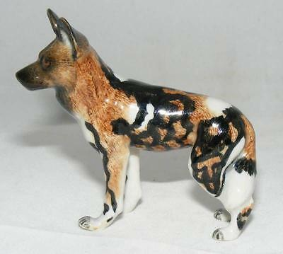 Northern Rose Miniature Porcelain Animal Figure African Wild Dog R253