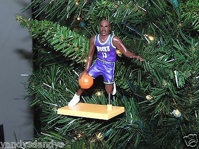 glenn ROBINSON milwaukee BUCKS basketball NBA xmas TREE ornament HOLIDAY jersey