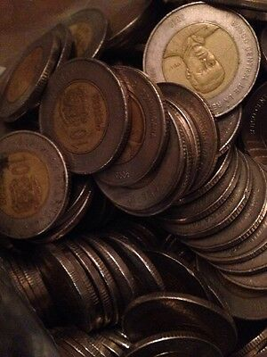 Lost Of Over 1,000 Current Dominican Republic Coins, 25,400 Pesos Total