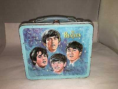 1965 Beatles Lunchbox Lunch Box.   294-T