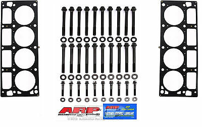 Arp Gm Chevy Cylinder Head Bolt Kit 2004-Up Ls2 Ls3 6.0L 6.2L & Mls Head Gaskets