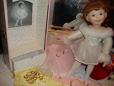 "~Pretty 16"" Ballerina Doll / Case / Clothes / ""Jessie Beth""..14.99"