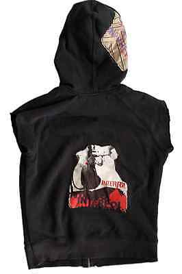 INTERPOL Band Music Hoodie Streets to Nowhere Small Unisex Sleeveless Cut Off