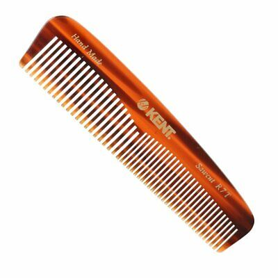 Kent R7T 130mm Small Fine Coarse Toothed Pocket Hair Comb