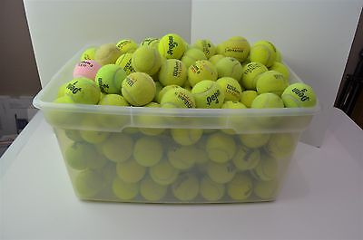 Used Tennis Balls in lots of 40. Brands are mainly Wilson, Penn, and Dunlop.