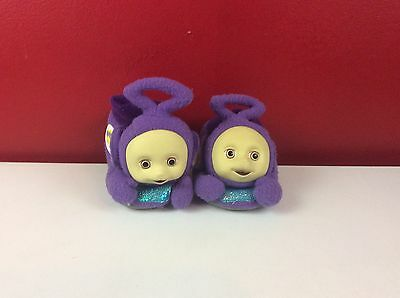Vintage Teletubbies Tinky Winky Slippers Size 5-6 Rare