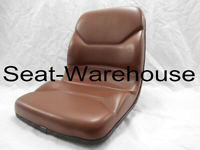 Brown Seat Fits Case Backhoe Loader 580C, 580D, 580E, 580K, 580L,580M #no