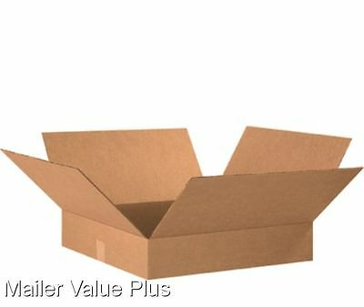 10  20x20x4 Shipping Boxes Packing Moving Storage Cartons Cardboard Mailing Box
