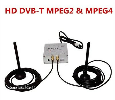 Digital TV Receiver Box HD DVB-T With MPEG4&MPEG2 Signal Dual Antenna For Europe