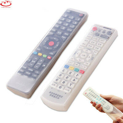 TCL/TV Remote Control Set Waterproof Dust Silicone Skin Protective Cover Case