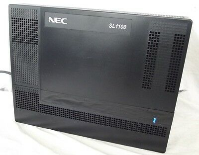 NEC SL1100 Phone System IP4AT-1228M-B, Pulled from a working site