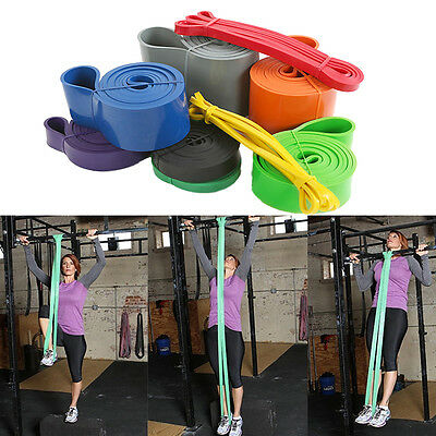 Loop Bands Yoga Exercise Resistance Sport Fitness Strength Weight Loss Training